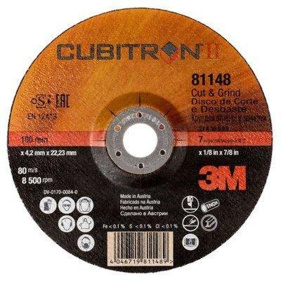 Kotúč brúsny Cubitron II 3M T27, 125x4,2x22 mm, PN 81149