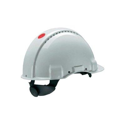Prilba 3M G3000NUV-VI SAFETY HELMET s otočným kolieskom biela