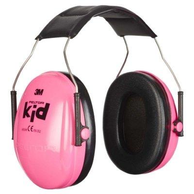 Chránič sluchu detský slúchadlový PELTOR KID NEON ružový H510AK-442-RE