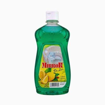 Prípravok čistiaci na riad MIRROR DeLUX 500ml citrón PERFEKT