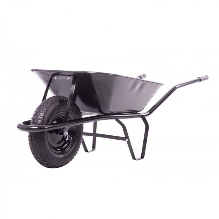 Fúrik stavebný 60L čierny nezváraná korba nafukovacie koleso JAD 11923