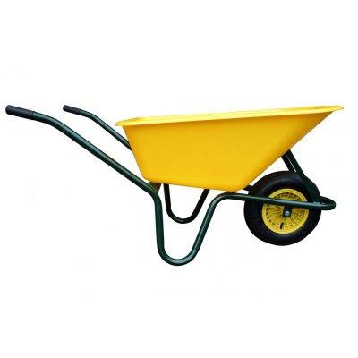 Fúrik záhradný 100L LIVEX plastová korba žltá JAD 24010