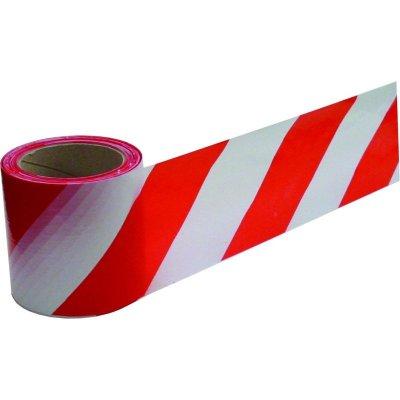 Páska výstražná 80mm x 100m bielo-červená JUTEL