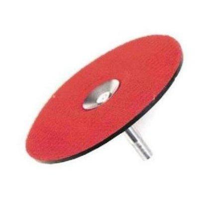 Disk unášací suchý zips 125 so stopkou JUTEL