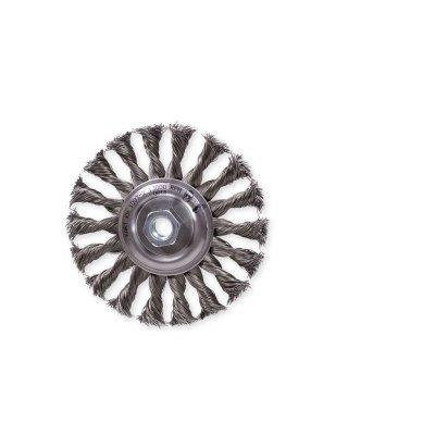 Kotúč copánkový radiálny 125xM14 dr 0.4mm oceľ KART