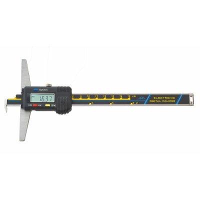 Hĺbkomer digitálny s nosom skrutkovaný 200/0.01mm KINEX 2052-05-200