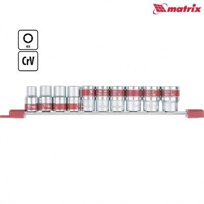 Gola sada hlavíc 1/2 10 dielna 10-22mm MATRIX 135579