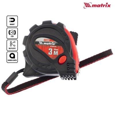 Meter stáčací (zvinovací) nylón 3m PROFI magnet MATRIX 310049