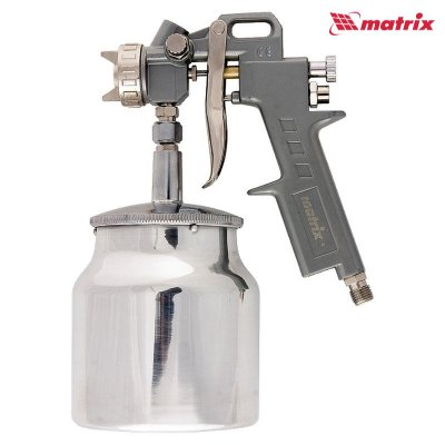 Pištoľ striekacia pneumatická s nádržkou 0,75L MTX 57317
