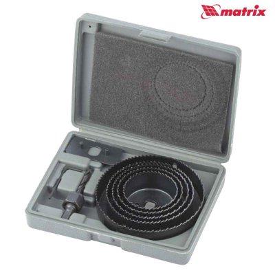 Sada vykružovacích píl 8 dielna (64 - 127mm)  MATRIX 704715