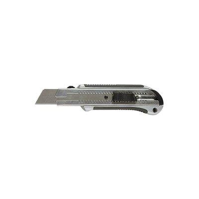 Nôž ulamovací 25 mm kovový s tlačítkom  MTX