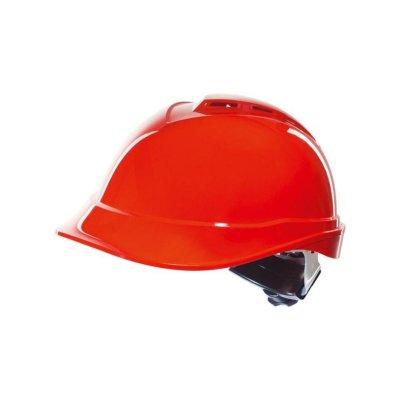 Prilba priemyselná OPSIAL V-PRO červená