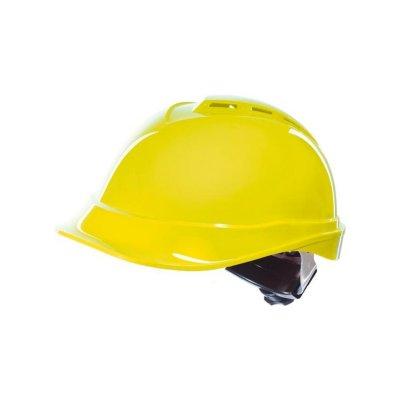 Prilba priemyselná OPSIAL V-PRO žltá