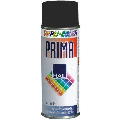 Farba v spreji PRIMA RAL 9005 čierna matná 500ml