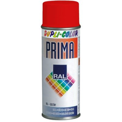 Farba v spreji PRIMA RAL 3020 červená  500ml