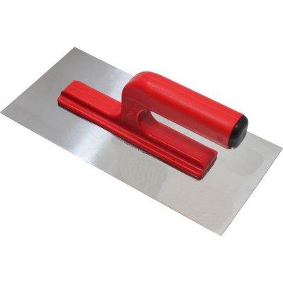 Hladítko nerez 270x130mm hladké PVC rukoväť TOPTRADE 109051