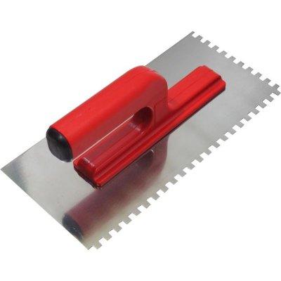 Hladítko nerez 270x130 z10x10 PVC rukoväť