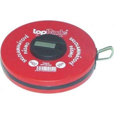 Pásmo meracie sklolaminátové 10m TOPTRADE 500061