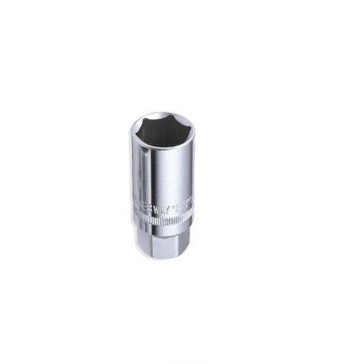 Hlavica na sviečky 1/2 14 s gum. JONNESWAY (orech) S17H4314