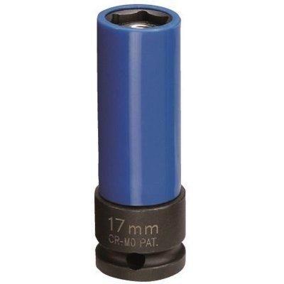 Hlavica na elektróny 1/2 17 predĺžená kovaná s vyhadzovačom JONNESWAY (orech)