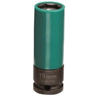 Hlavica na elektróny 1/2 19 predĺžená kovaná s vyhadzovačom JONNESWAY (orech)