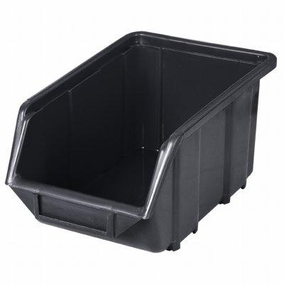 Ecobox PVC 240x155x125 čierny PATROL