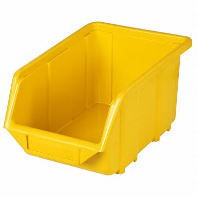 Ecobox PVC 240x155x125 žltý PATROL