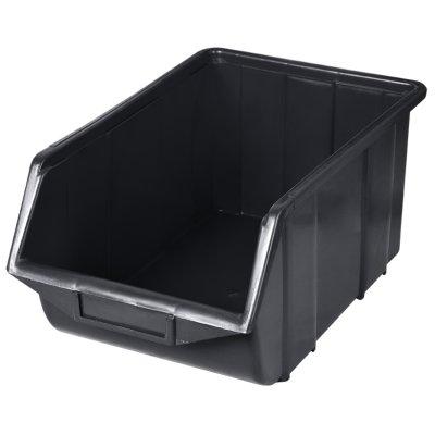 Ecobox PVC 350x220x165 čierny PATROL