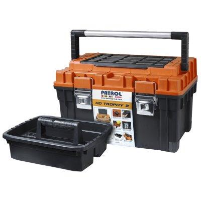 Kufrík HD TROPHY 2 oranžový PATROL