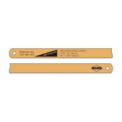 List pílový 300mm HSS Bi-flexible 24z RUKO
