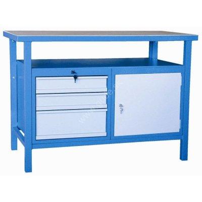 Stôl pracovný ponk P1200SLT 1200x600x850