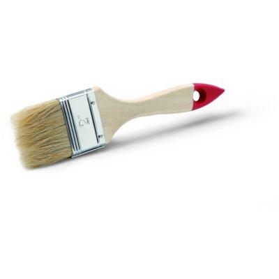 Štetec plochý 1' /25 mm červený