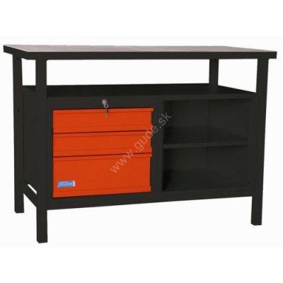Stôl pracovný ponk P1200SL 1200x600x850